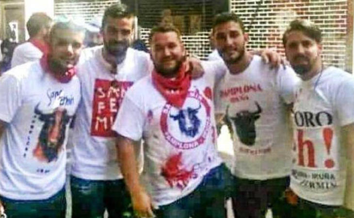 Los cinco presuntos violadores de los Sanfermines de 2016