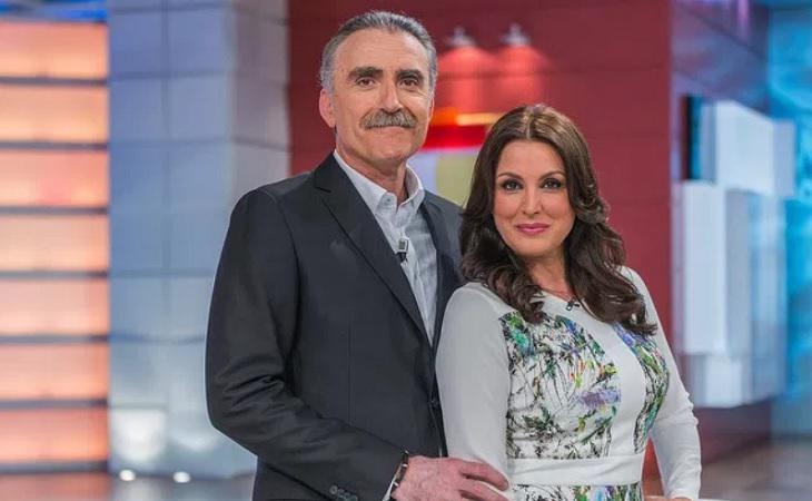 Juan y Medio y Eva Ruiz posan juntos en una imagen promocional