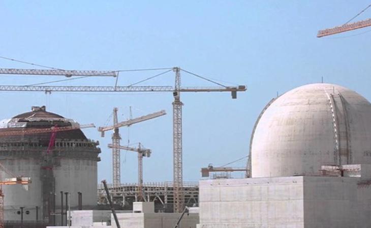Planta nuclear de Baraka en Abu Dabi