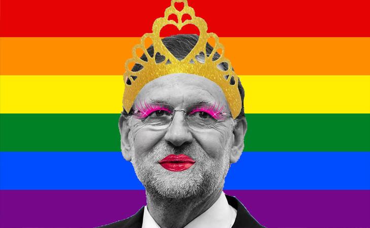 Mariano Rajoy nunca será una diva gay
