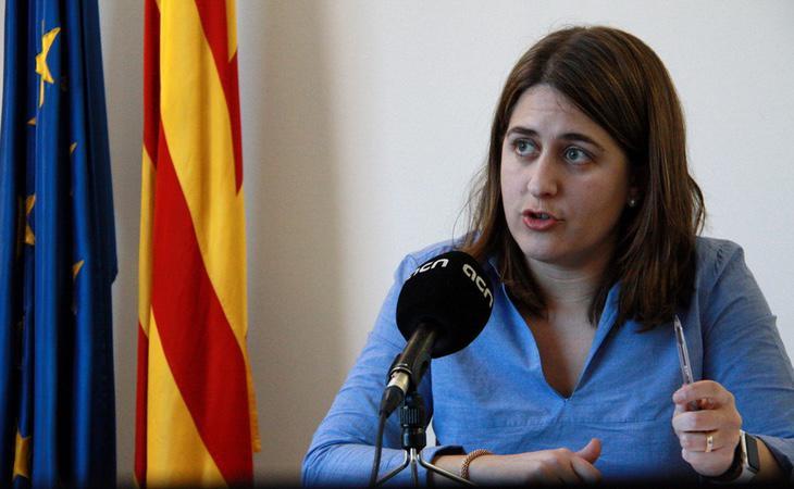 La coordinadora general del PDeCAT, Marta Pascal, se ha distancia de Puigdemont durante las últimas semanas