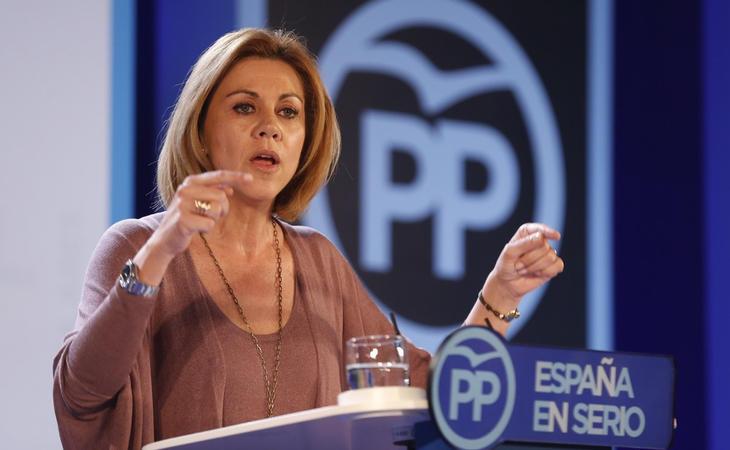 María Dolores de Cospedal ha asegurado que el Gobierno se encuentra investigando la injerencia extranjera en el conflicto catalán