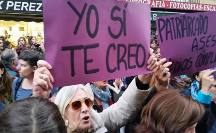 El juicio a 'La Manada' ha provocado una ola de solidaridad con la víctima