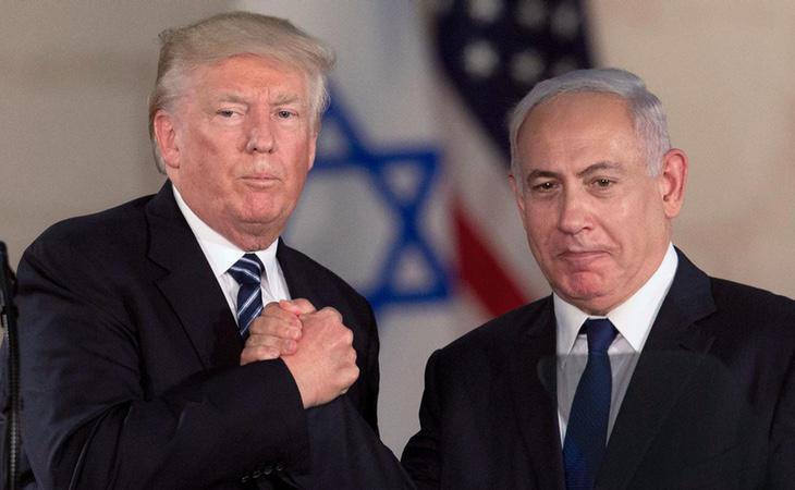 Donald Trump se ha alineado finalmente con Israel en mitad del conflicto palestino