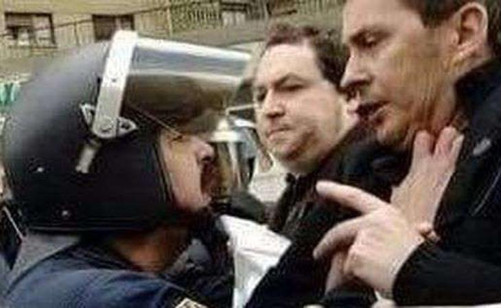 Camejo fue especialmente recordado por enfrentarse a Otegui durante una manifestación del entorno abertzale