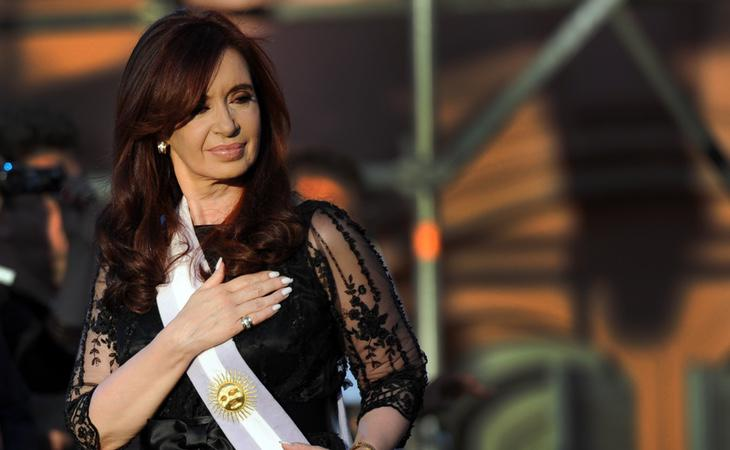 La expresidenta argentina, Cristina Fernández de Kirchner
