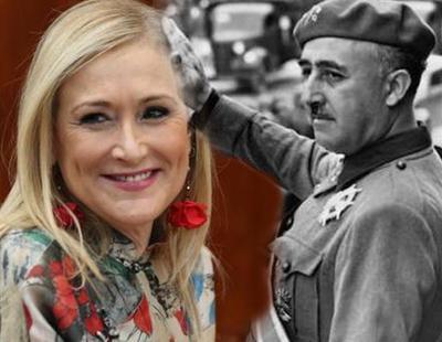 Cifuentes se niega a investigar el franquismo y se queda sola en la Asamblea de Madrid