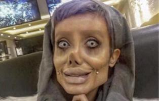 La mujer que se 'operó' para ser Angelina Jolie usó maquillaje y Photoshop para divertirse
