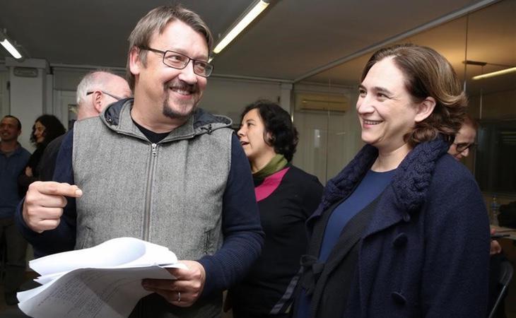 La indefinición de Ada Colau puede lastrar la candidatura de Xavier Domènech