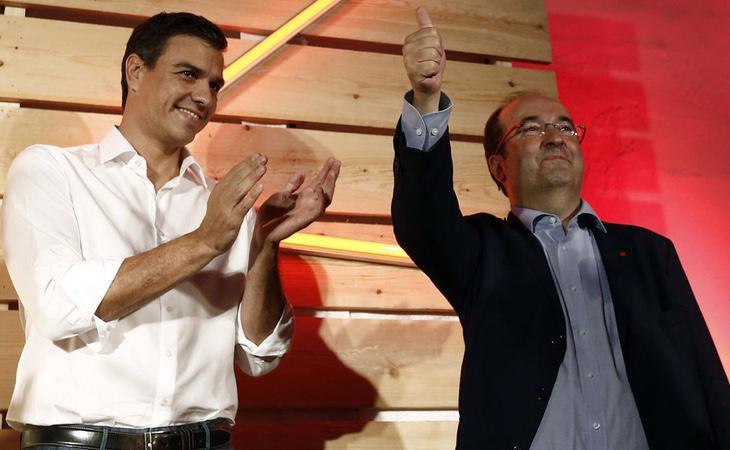 Miquel Iceta puede jugar el papel de enlace entre los partidos constitucionalistas