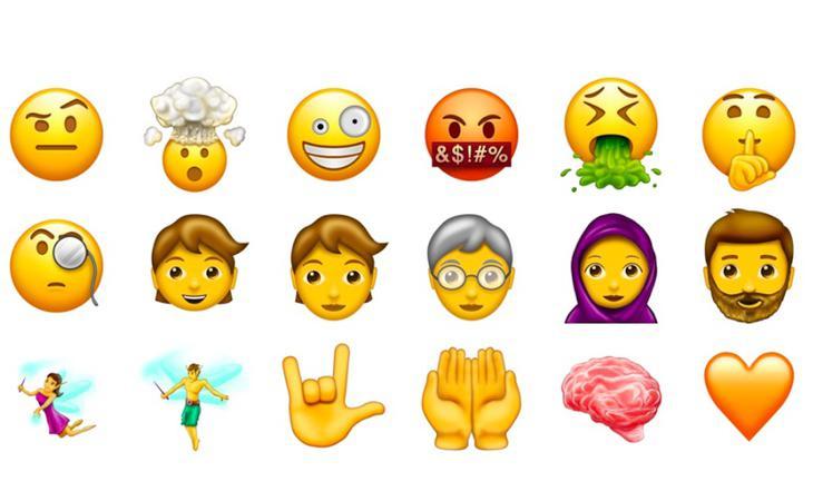 Los nuevos emojis de WhatsApp incluyen todo tipo de diseños