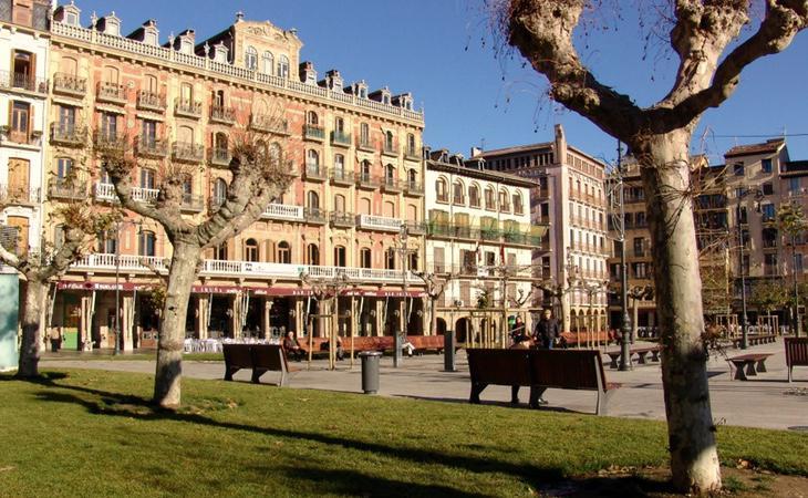 La mujer se encontraba en el centro de Pamplona en el moment