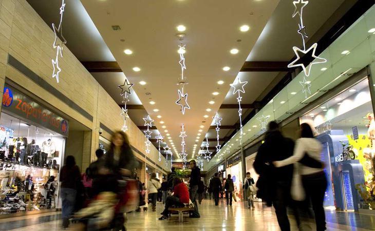 Los centros comerciales pueden ser lugares especialmente ansiógenos en Navidad