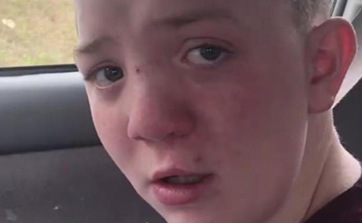 Keaton Jones, el niño que se hizo viral por denunciar el bullying que sufría