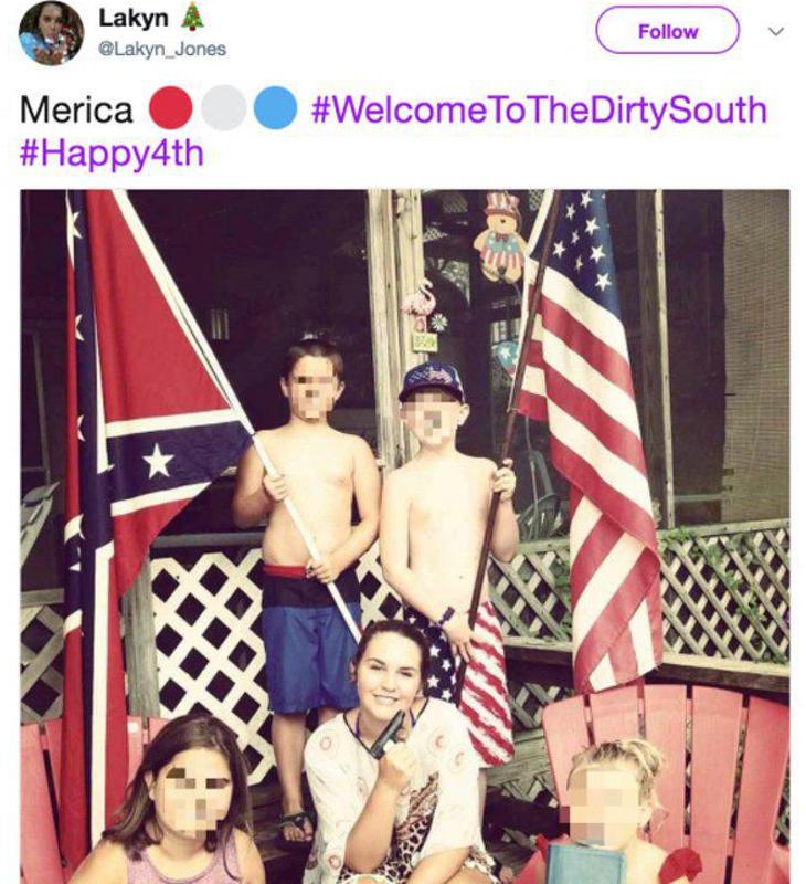 Esta es la foto de la familia de Keaton que ahora circula por la red