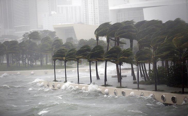 Irma en su paso por Florida