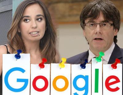 Lo más buscado en Google en 2017: artículo 155, Andreíta, Puigdemont y Bimba Bosé