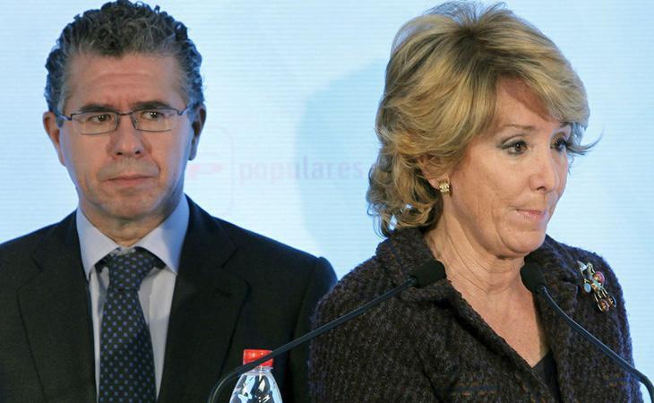 Granados ha pedido la imputación de varios dirigentes madrileños, entre ellos, Esperanza Aguirre
