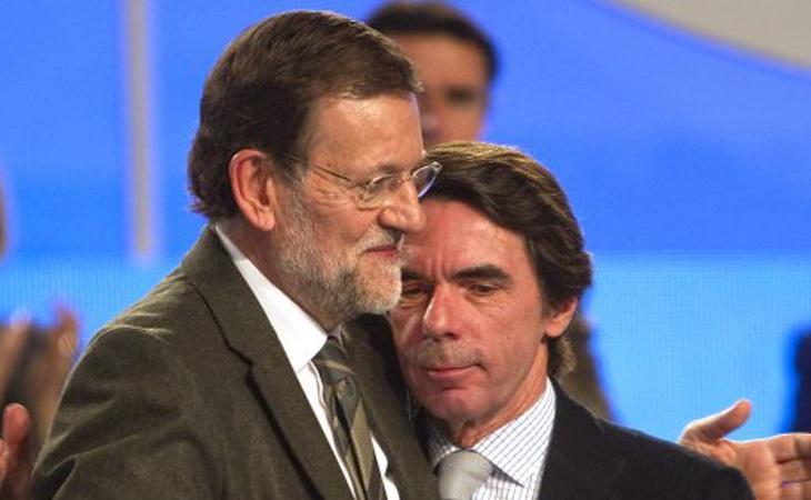 Las relaciones entre Aznar y Rajoy están muertas