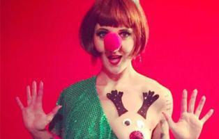 """La """"teta-reno"""": la moda más loca de esta Navidad"""