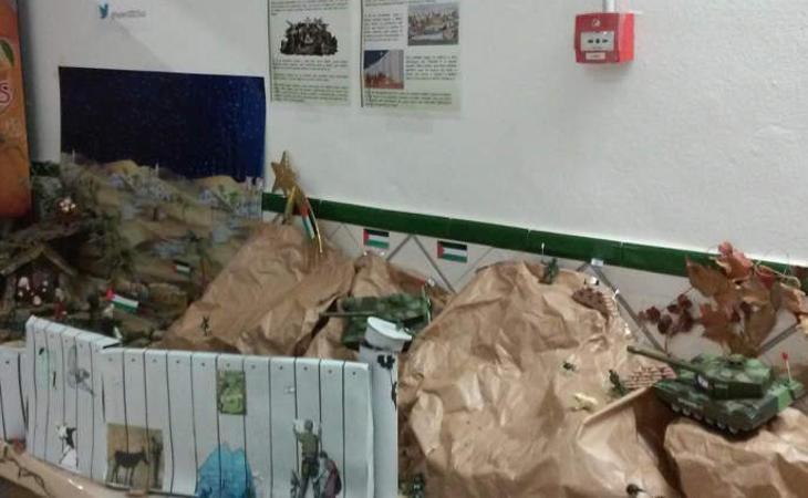 La polémica de los tanques llega al Belén