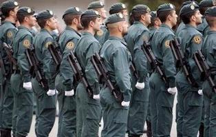 Prisión para un guardia civil que insultó a su jefe en un partido de fútbol