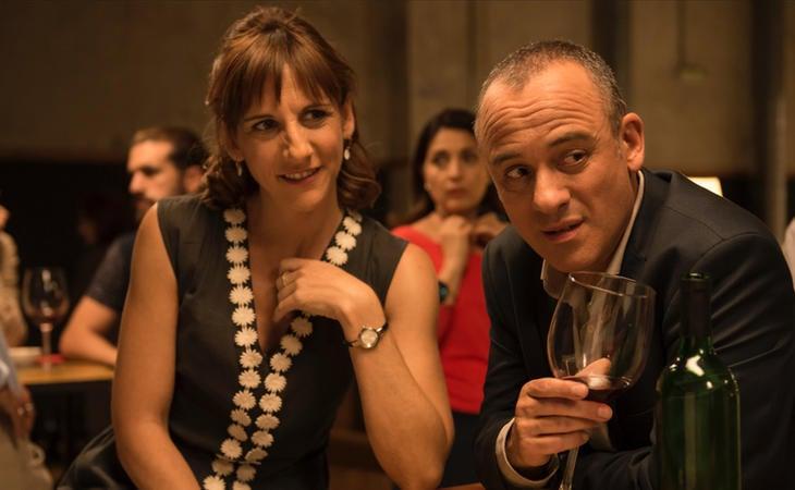 Malena Alterio y Javier Gutiérrez en 'Vergüenza'