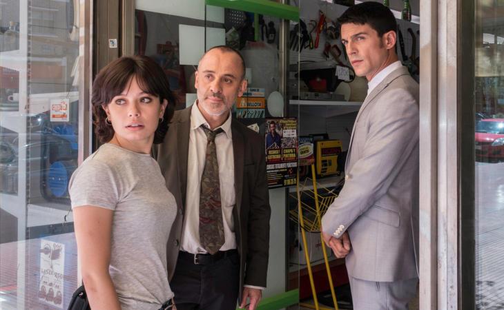 Anna Castillo, Javier Gutiérrez y Alejo Sauras en 'Estoy vivo'