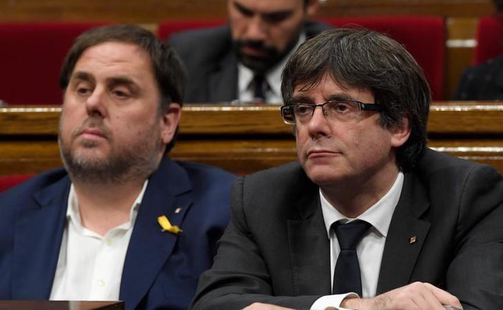Las relaciones entre Junqueras y Puigdemont están muertas