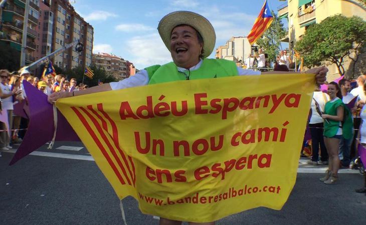 Parte del independentismo vincula a España con el pasado