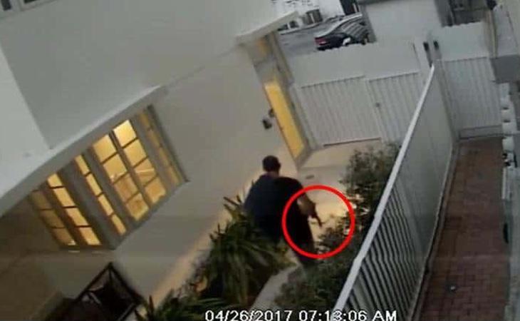 Las imágenes captadas por las cámaras de seguridad fueron determinantes en la investigación