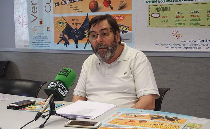 Jose María Martínez es concejal de Atención a las Personas en Cuenca