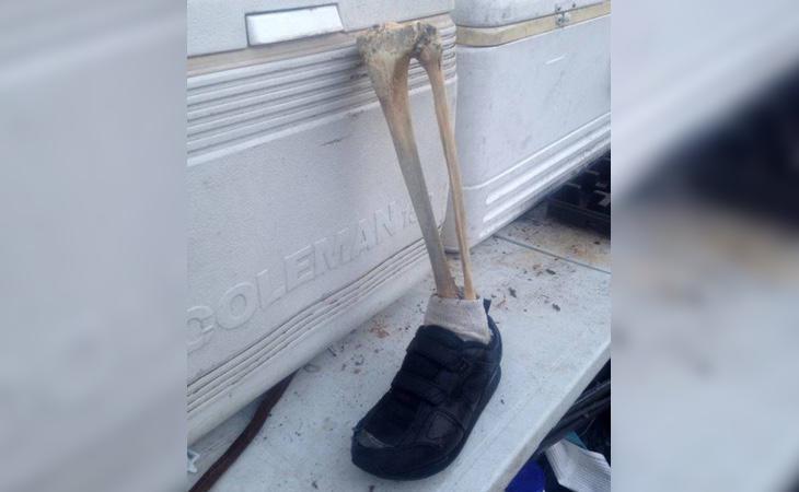 Los restos óseos han aparecido trece ocasiones en una década