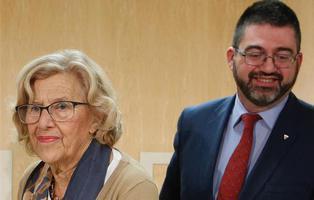 Carmena destituye a su concejal de Economía y Hacienda, Carlos Sánchez Mato