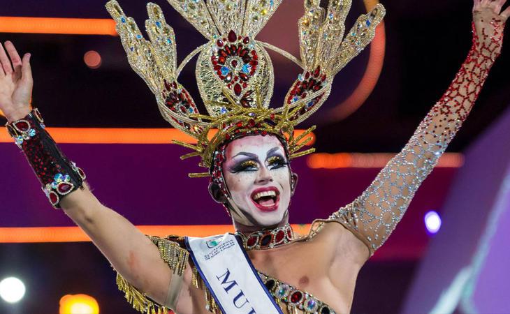 Drag Sethlas se alzó como la reina del carnaval