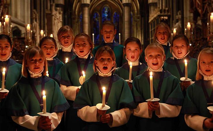 Los villancicos en origen eran solo cantados en iglesias para amenizar las liturgias navideñas