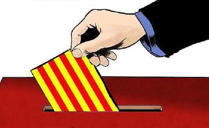 A las 9 ha arrancado la jornada electoral de este 21D en Cataluña en el que 5.554.394 ciudadanos están llamados a votar en los 2.6.80 colegios ...