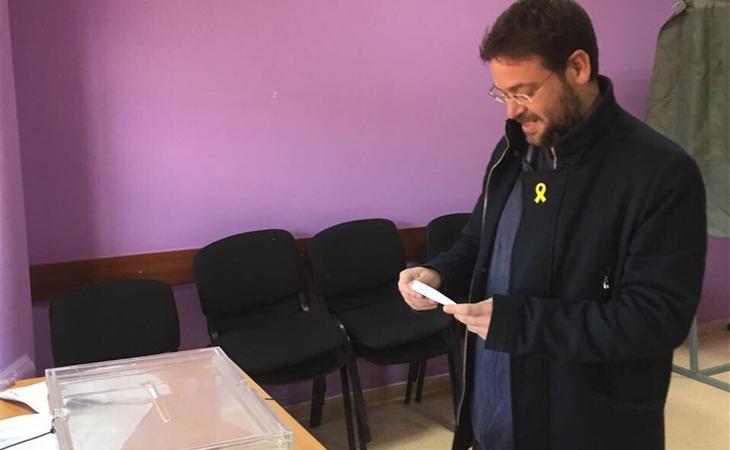 Albano-Dante Fachin, ex secretario general de Podem, ya ha votado: