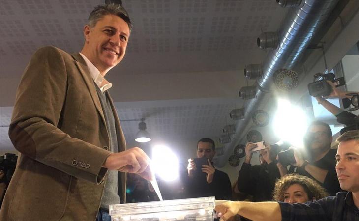 Xavier García Albiol, candidato del PP, ya ha votado: