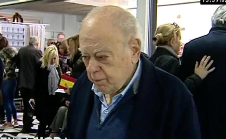 El expresident Jordi Pujol ha acudido a votar: