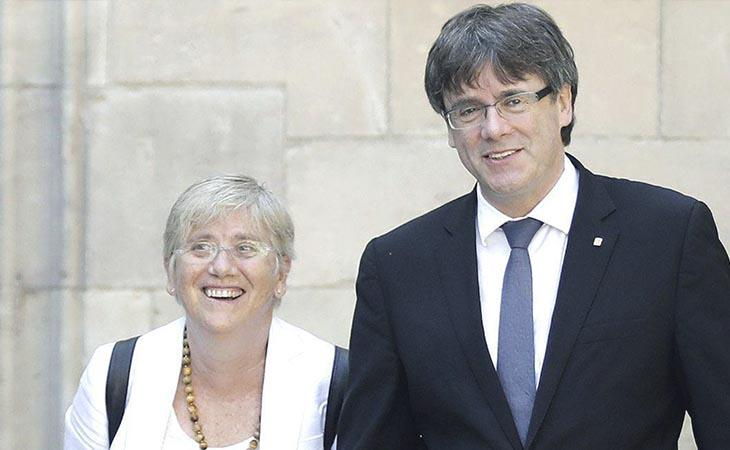Puigdemont y los exconsellers huidos comparecerán públicamente a las 22:00 para valorar los resultados
