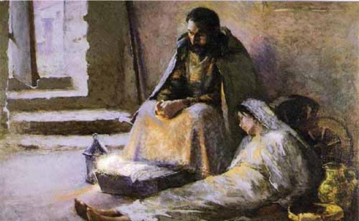 El cuadro Natividad de Garibaldi