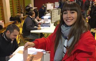 Aitana, Alfred y Nerea ('OT 2017') votan el 21-D ¿Les ha  afectado la desinformación?