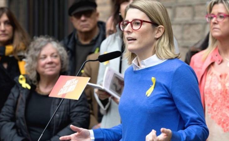 Elsa Artadi podría sustituir a Puigdemont al frente de la Generalitat