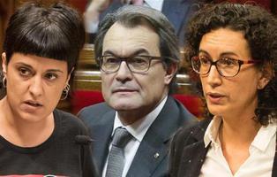 El Tribunal Supremo imputa por rebelión a Artur Mas, Marta Rovira y Anna Gabriel