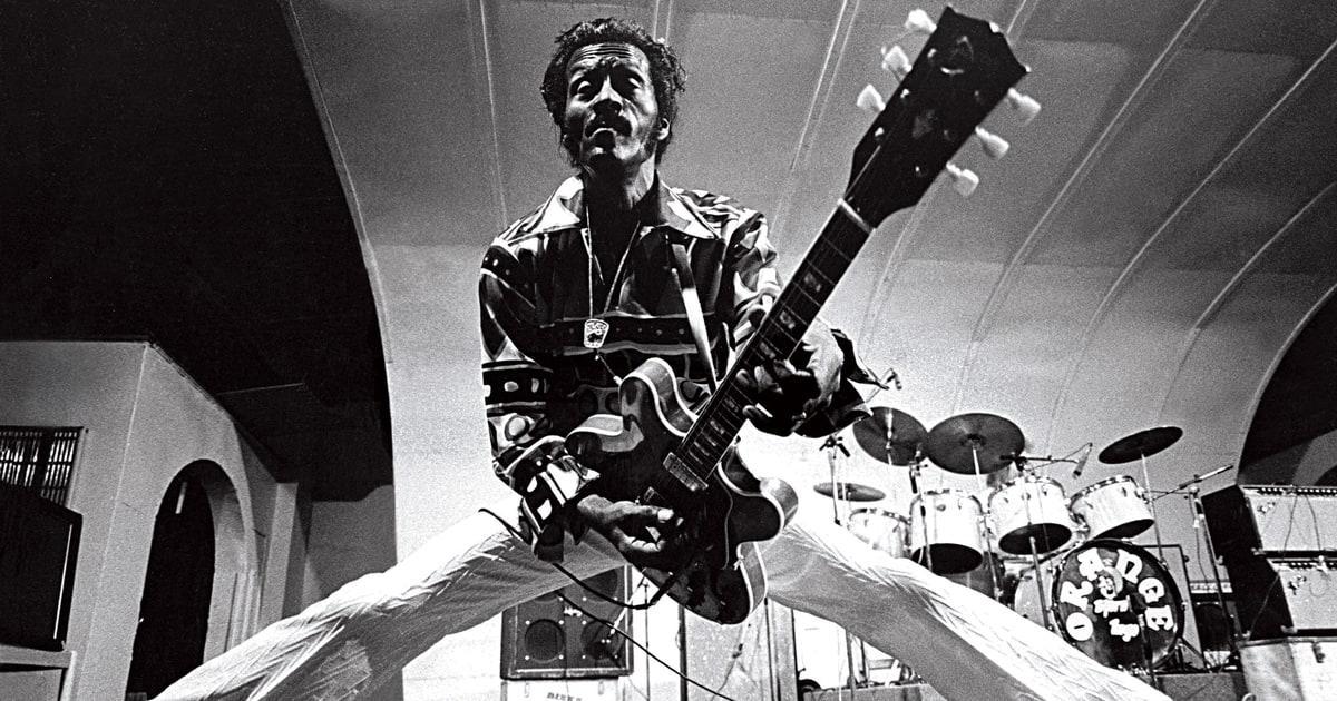 Chuck Berry (18 octubre 1926 - 18 marzo 2017) (90 años)