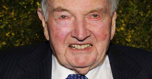 David Rockefeller (12 junio 1915 - 20 marzo 2017) (101 años)