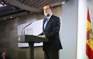 Rajoy ofrece diálogo, defiende el 155 y descarta dimitir como presidente