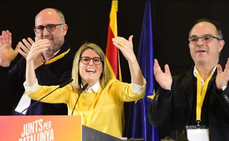 Elsa Artadi forma parte del círculo más íntimo de Puigdemont y cuenta con posibilidades de convertirse en presidenta