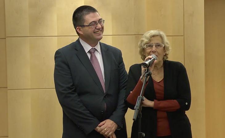 Carmena destituyó a Mato al frente del área de Economía para aprobar un plan de recortes millonario